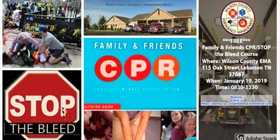 ***FREE***Friends & Family CPR-STOP the BLEED