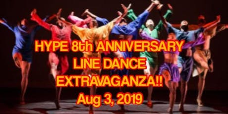 URBAN LINE DANCING AT THE NBTF WITH H.Y.P.E.  tickets