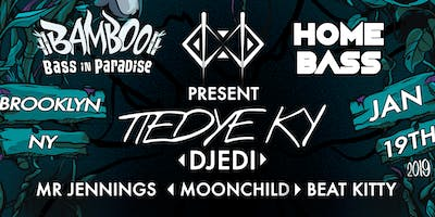 Home Bass presents: NYC Bamboo Bass Preparty with Tiedye Ky, Djedi, and more