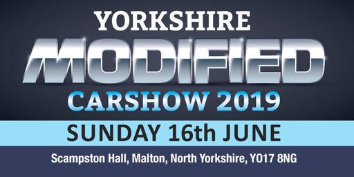 Yorkshire Modified Car Show 2019 (Buy Public Admission Tickets)