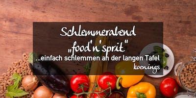 """Schlemmerabend \""""food\"""
