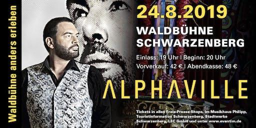 ALPHAVILLE live // Waldbühne anders erleben, Schwarzenberg