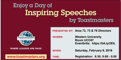 Triple Treat Toastmasters Area Contests