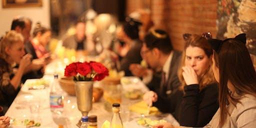 Shabbat Dinner at The Chabad Loft