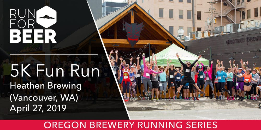 Image result for or brewery running series heathen