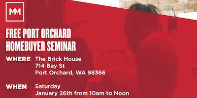 Free Port Orchard Home Buyer Class