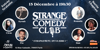 Strange Comedy Club - Stand up #31