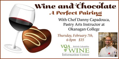 Wine and Chocolate with Chef Danny Capadouca
