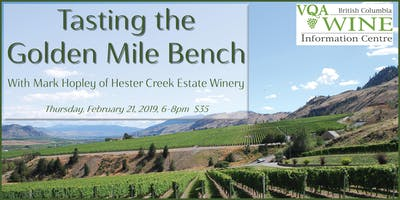 Tasting the Golden Mile Bench with Mark Hopley
