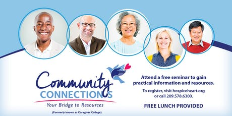 Modesto Community Connections: Stress Management Tips  tickets
