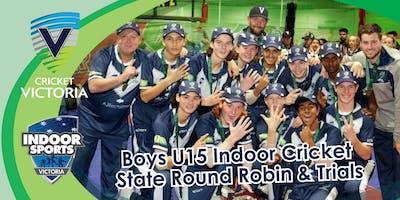 Victorian 15 & Under Indoor Cricket Round Robin/Trials