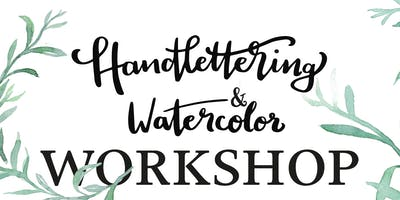Handlettering & Watercolour Workshop
