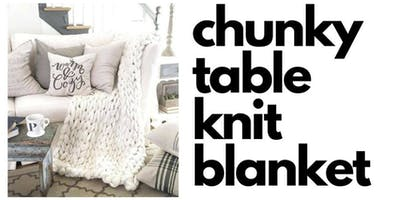 Chunky Table Knit Blankets