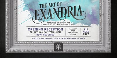 Critical Role Presents: The Art of Exandria - Opening Reception