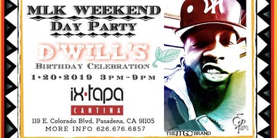 MLK WEEKEND DAY PARTY