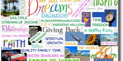 Vision Board and Yoga Workshop