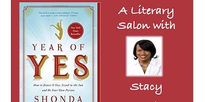 A Literary Salon with Stacy Hawkins Adams and Shonda Rhimes\
