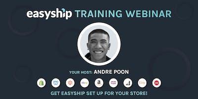 Easyship Training Webinar