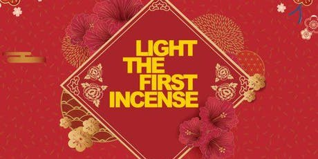 offer first incense and make your new year wishes 2019 tickets