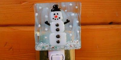 Snowman Nightlight Workshop at The Glengary Inn