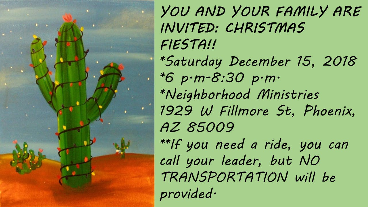 Christmas Fiesta!