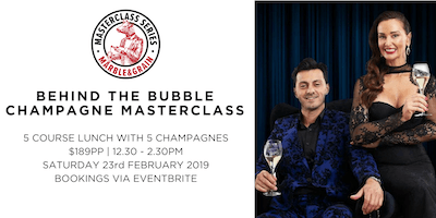 Behind the Bubble - Champagne Masterclass by the Champagne Dame