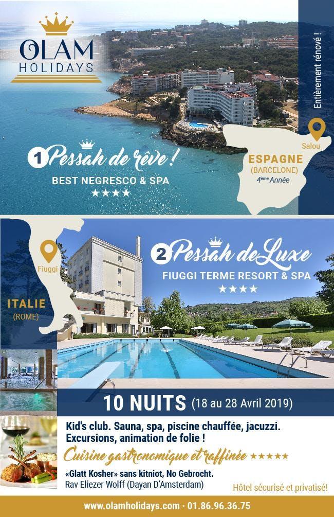 Pessah 2019 De Rêve Espagne Vacances Pessah De Luxe 2019 Italie 11
