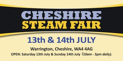 Cheshire Steam Fair 2019 (Buy Trading Space)