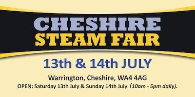 Cheshire Steam Fair 2019 (Buy Public Camping)