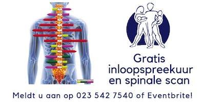 Gratis chiropractisch inloopspreekuur