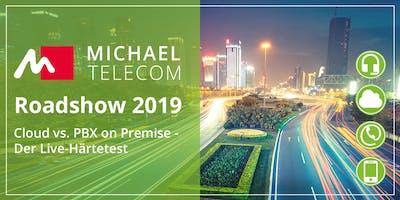 MichaelTelecom Roadshow: Cloud vs. PBX on Premise - Der Live-Härtetest
