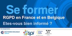 RGPD en France et en Belgique : Etes-vous bien informé...