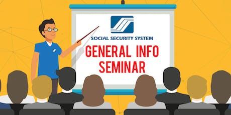 SSS General Information Seminar  tickets