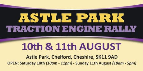 Astle Park Traction Engine Rally 2019 (Buy Public Camping) tickets