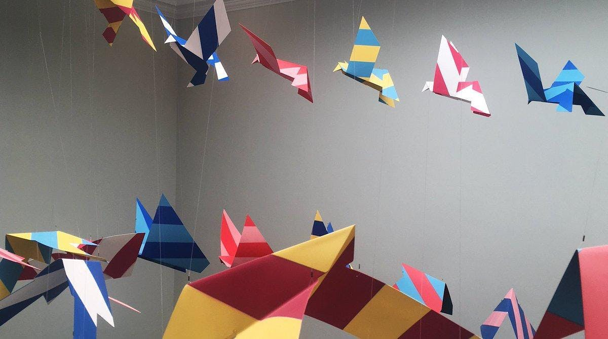 Origami Workshop at Listen Now Again