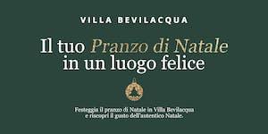 Pranzo di Natale in Villa Bevilacqua