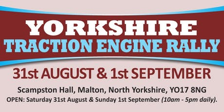 Yorkshire Traction Engine Rally 2019 (Buy Trading Space) tickets