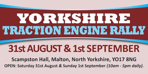 Yorkshire Traction Engine Rally 2019 (Buy Trading Space)