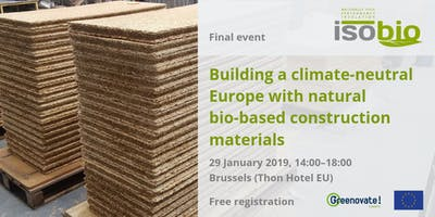 Building a climate-neutral Europe with natural bio-based construction materials