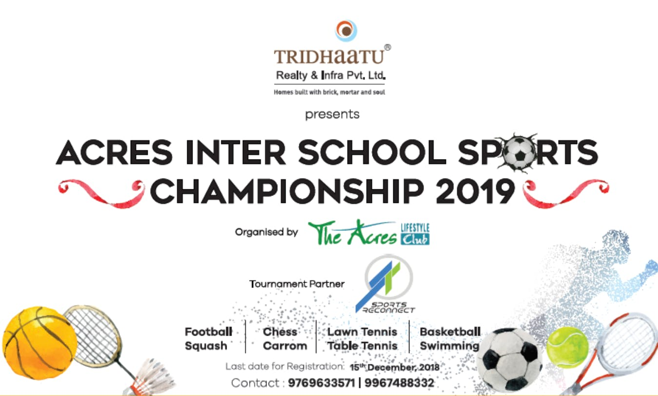 ACRES INTER SCHOOL SPORTS CHAMPIONSHIP 2019