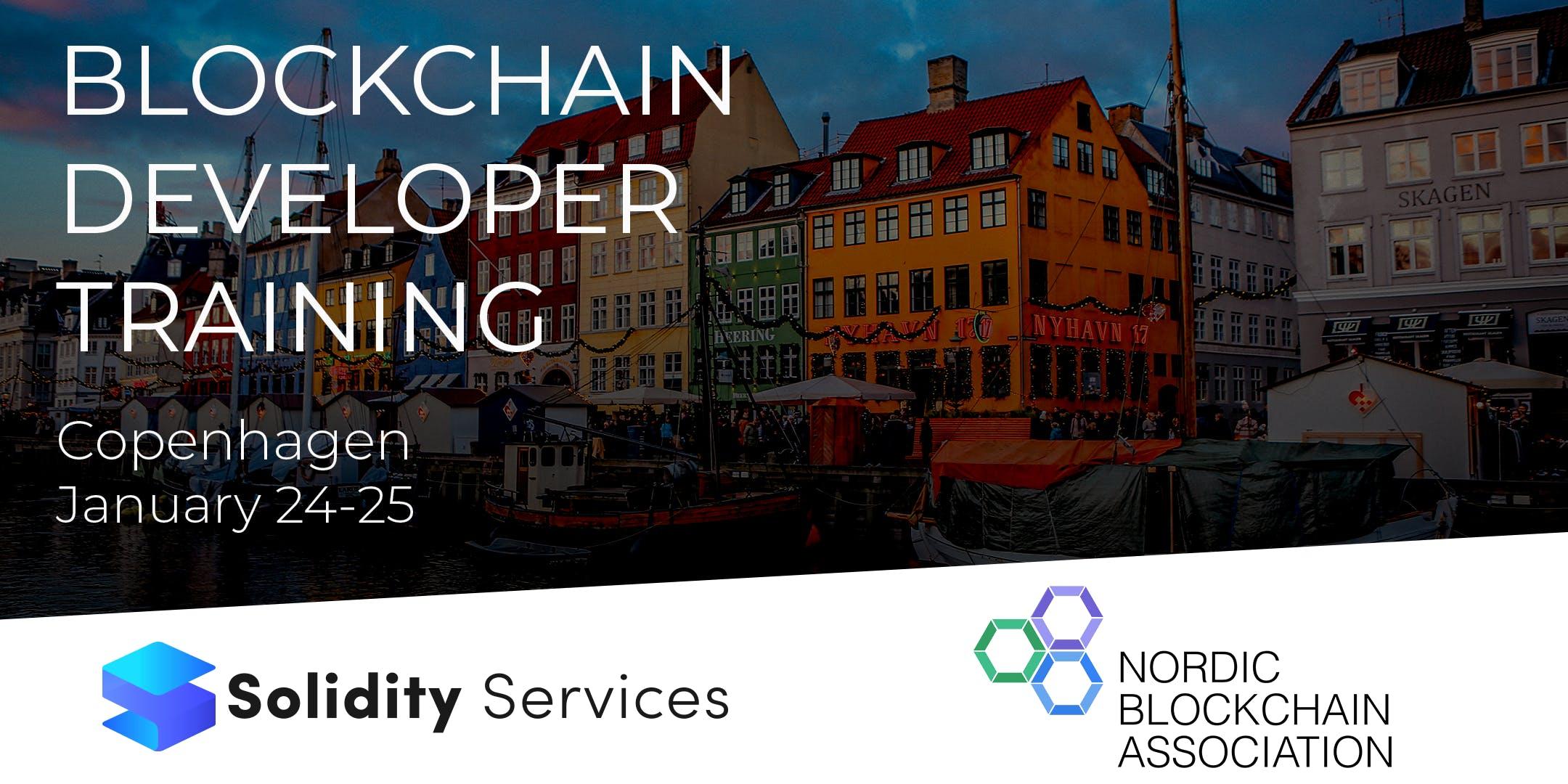 Solidity Intro - Blockchain Developer Training, Copenhagen