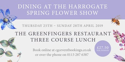 The Greenfingers Restaurant - 27th April 2019