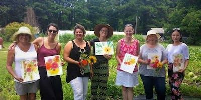 Art in the Garden July