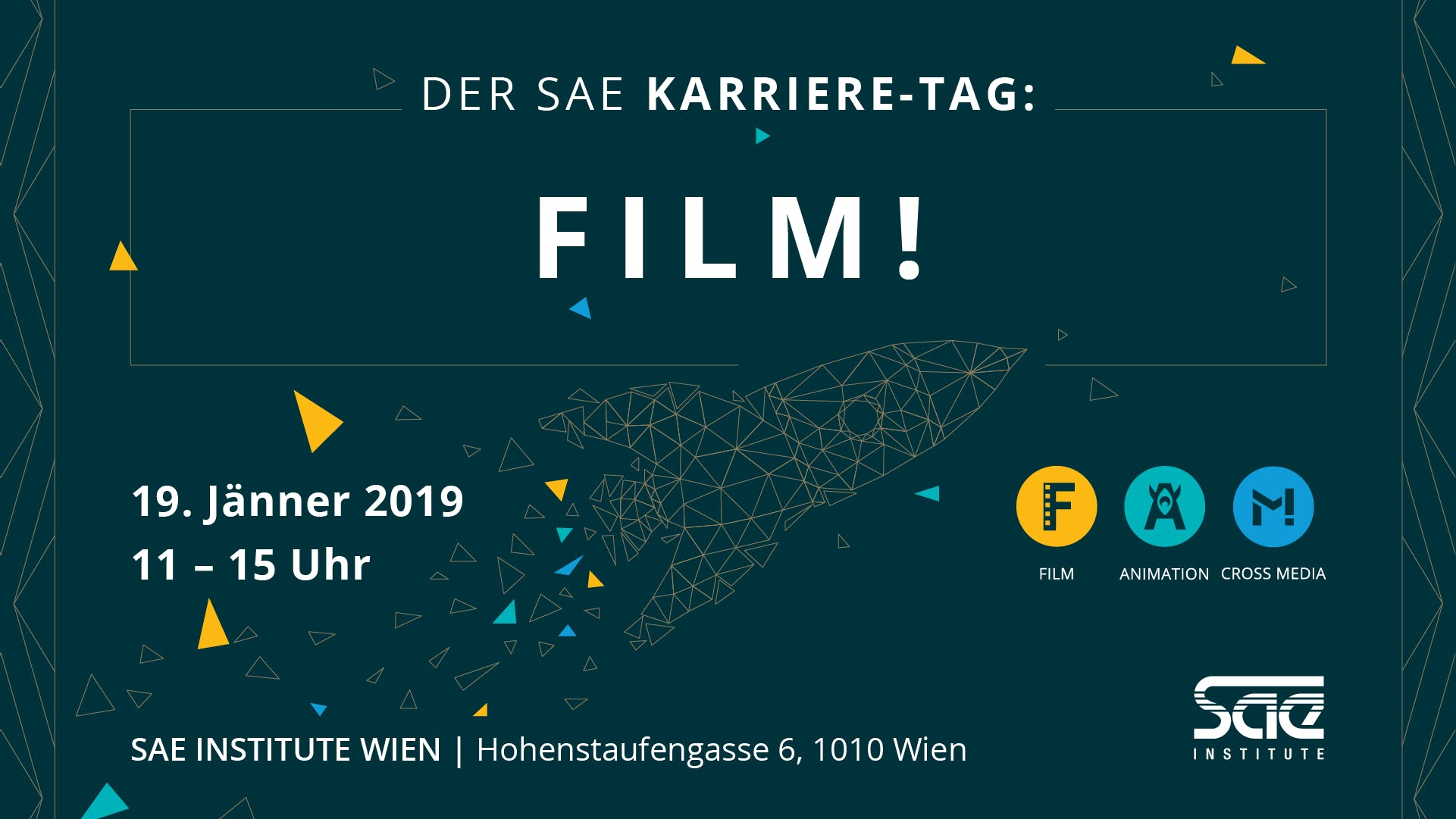 Der SAE Karriere-Tag: FILM!