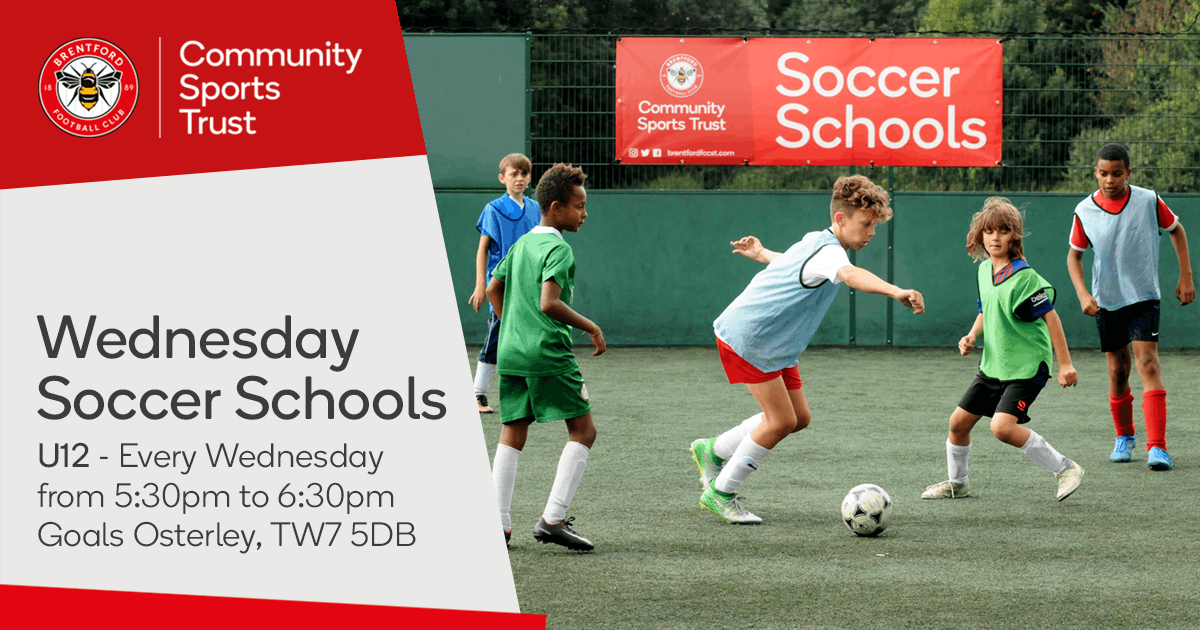 Wednesday Soccer Schools 2018/19 - Goals Gillette Corner