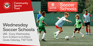 Wednesday Soccer Schools 2018/19 - Goals Gillette...