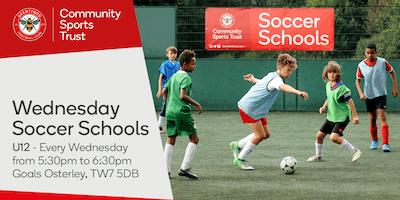 Wednesday Soccer Schools 2018/19 - Goals Gillette Corner