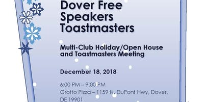 Dover Free Speakers Toastmasters Multi-Club Holiday/Open House Party