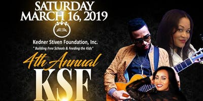 KSF 4TH ANNUAL BLACK TIE FUNDRAISER CELEBRATION- EARLY BIRD $ 100 BEFORE 12/31/18 - $125 AFTER. (RSVP REQUIRED)