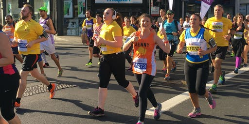 Royal Parks Half Marathon 2019 - Maggie's charity place